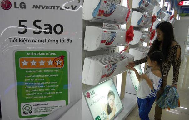 Điều hòa tiết kiệm năng lượng bán chạy