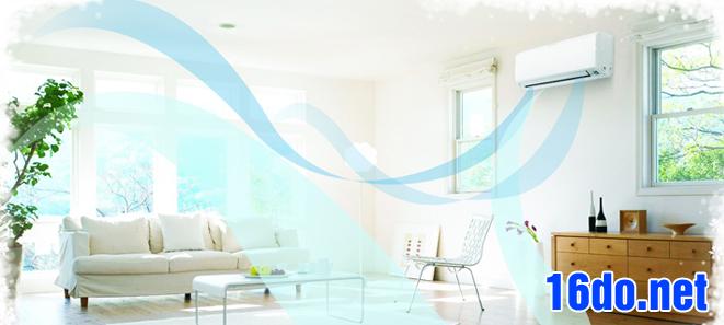 Quy trình bảo dưỡng điều hòa tại nhà