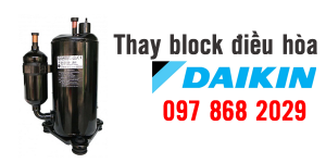Thay block điều hòa Daikin
