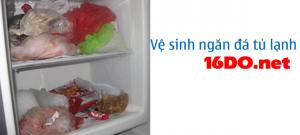 Vệ sinh ngăn đá tủ lạnh