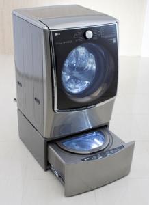 Máy giặt 2 kiểu đồ của LG