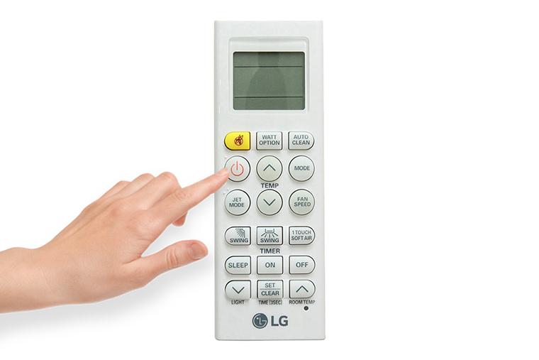 Cách sử dụng điều khiển điều hòa LG